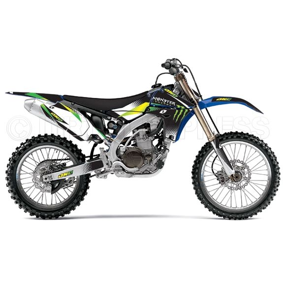 One Industries Yamaha Monster 12 Full Graphics Kit