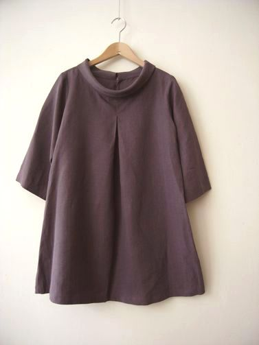 Linen blouse. Narrow the silhouette a bit | Linnet