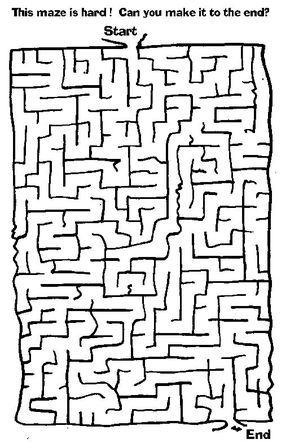 Free Printable Mazes Easy Medium Hard No Sign Up No Ads Just Free