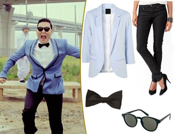 Halloween 2012: PSY 'Gangnam Style' Costume Ideas! Check out your local Goodwill for all your Halloween Shopping:  www.goodwillvalleys.com/shop