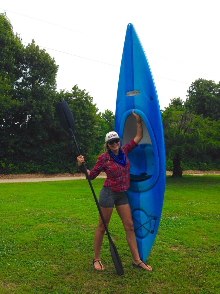Kayaking adventure outfit