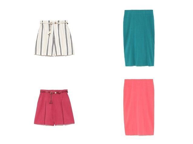 おすすめ!人気ファッション雑誌掲載アイテム  Lily Brown/リリーブラウンのポンチタイトスカート&ベルト付きリネンショートパンツのファッション通販