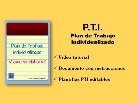 Cómo elaborar un plan de trabajo individualizado
