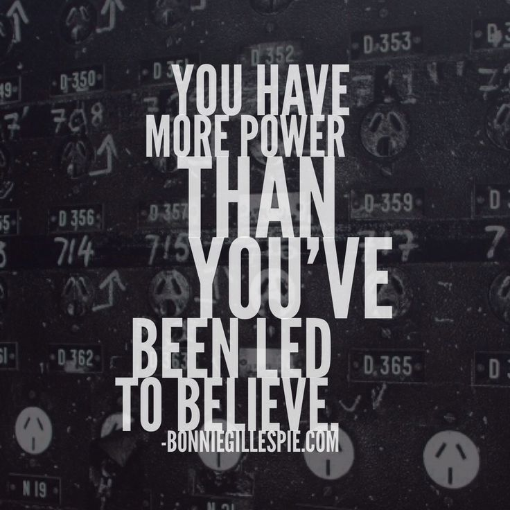 """You have more power than you've been led to believe. Hit http://bonniegillespie.com for FREE inspiration and guidance on bringing more joy to your creative career from the author of """"Self-Management for Actors,"""" Bonnie Gillespie!"""
