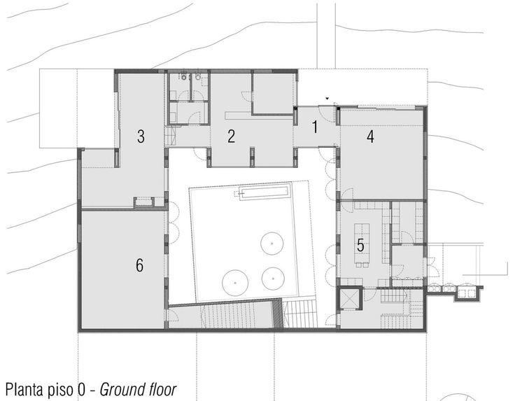 34 best maison à patio images on Pinterest House design - logiciel de plan maison