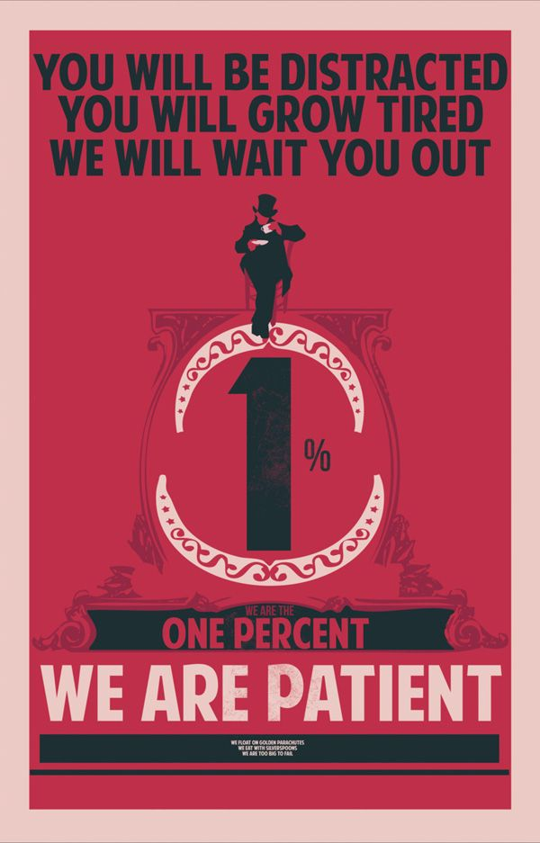 Propaganda Posters of the 1%