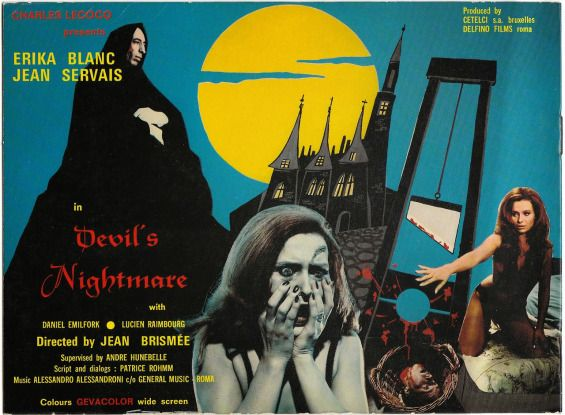 the devils nightmare 1971 | succubus arrives at the castle and proceeds to seduce each tourist ...