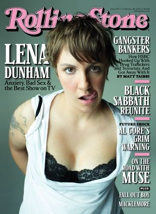 Lena Dunham for Rolling Stone by Peggy Sirota. tbt peggysirota lenadunham rollingstone