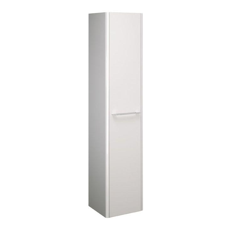 Celeste Tower Storage L/R Doors in White Gloss