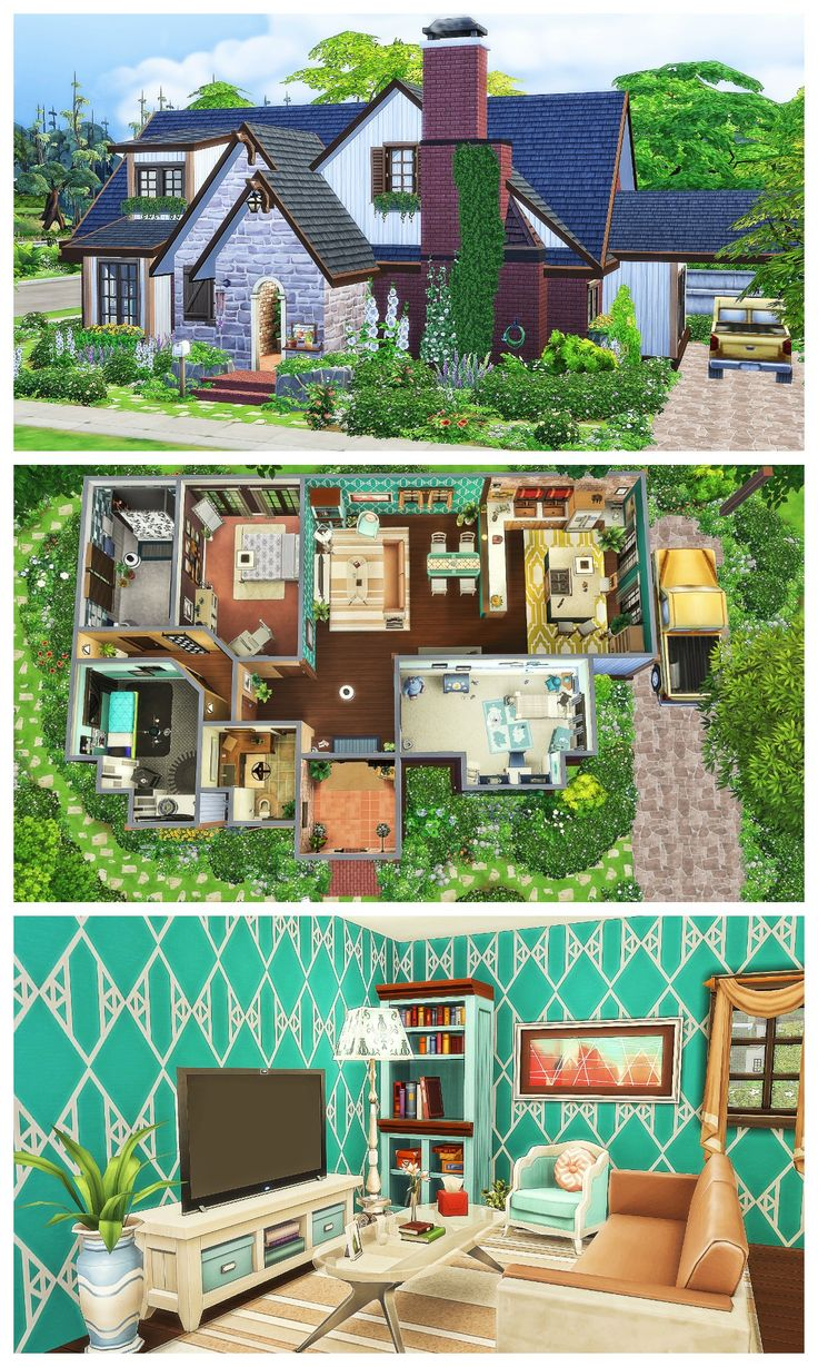 2184 best sims 4 downloads tutorials images on pinterest for Sims 4 house plans