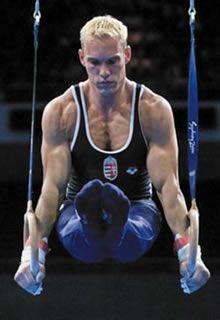 Szilveszter Csollany, Gymnastics - Hungary.
