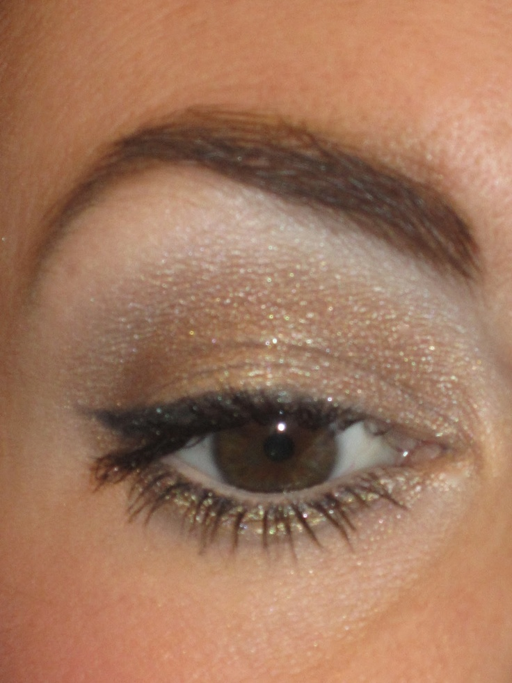 Everyday look using Urban Decay Naked Palette