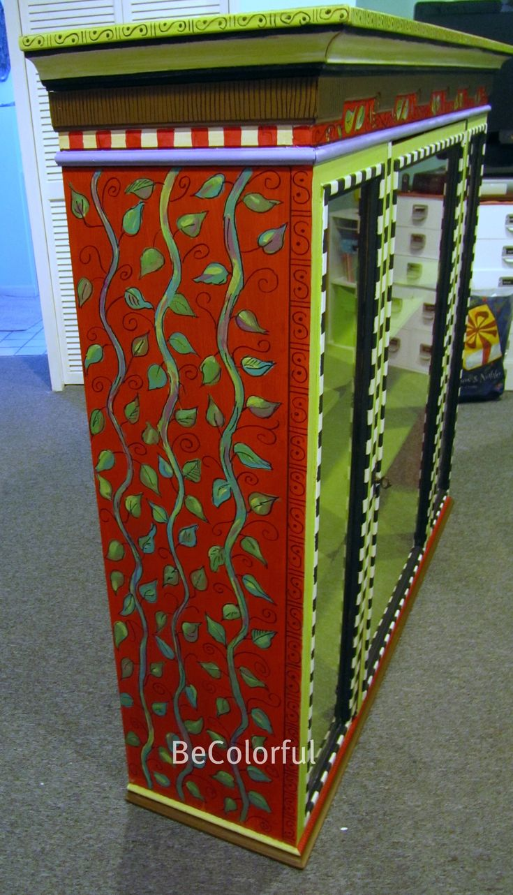 Funky painted furniture ideas - Find This Pin And More On Whimsical Painted Furniture Ideas