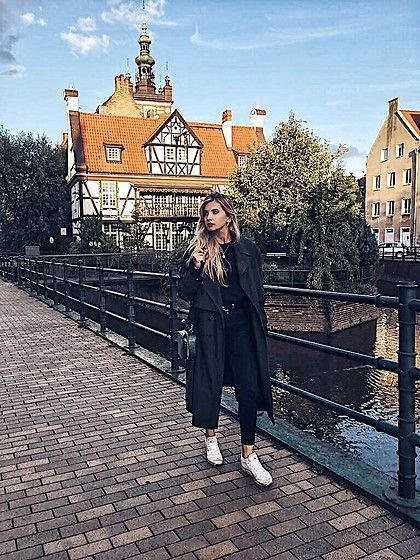 Get this look: http://lb.nu/look/8849729  More looks by Lutruixe: http://lb.nu/lutruixe  Items in this look:  Vintage Trench, Reebok Classic, H&M Green Bag, Zara Black Jeans, Reserved Black Hoodie   #coat #trench #longcoat #green #darkgreen #greencoat #blonde #blondegirl #ootd