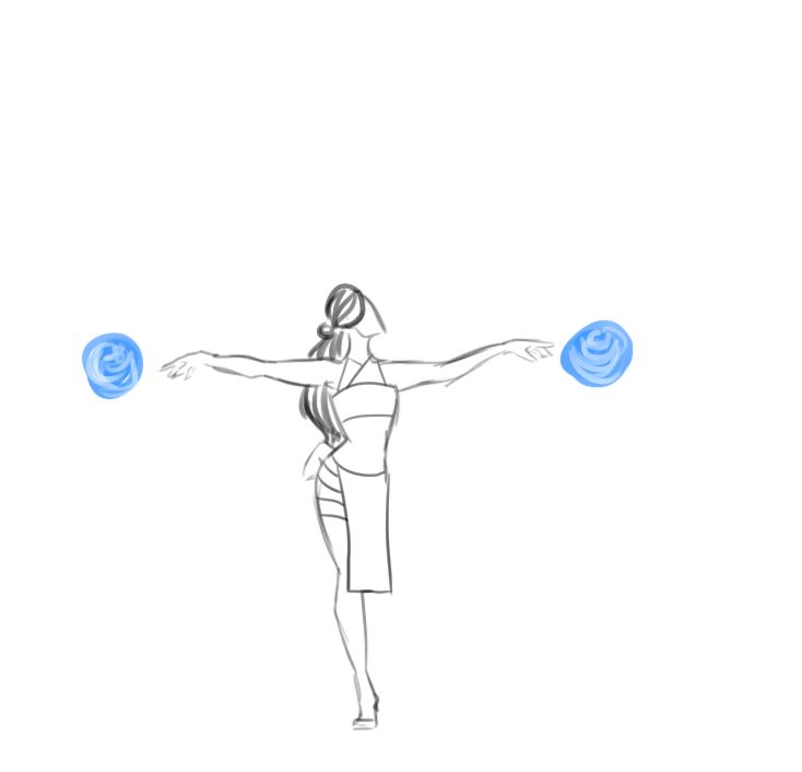 unidentifiedspoon: so these sketches of ballet waterbending frickin EXPLODED and a lot of people seemed to want it animated SO. i give you extremely sketchy animations of katara, prima ballerina