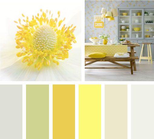 Amarillo florecer