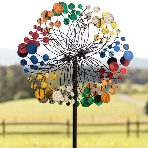 Found it at Wayfair - Bubbles Wind Spinner