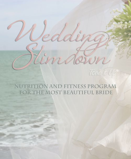 Tone It Up: Our Wedding Slimdown Timeline I am not getting married anytime soon.  However, these are great tips...