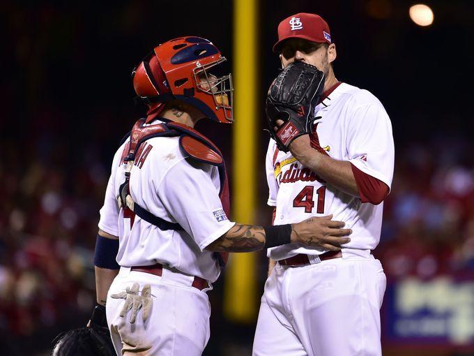 Oct 6, 2014; St. Louis, MO, USA; St. Louis Cardinals