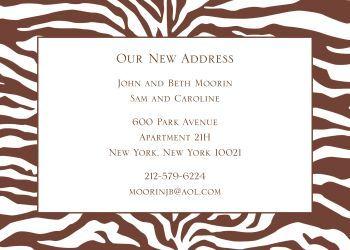 Zebra bridal shower or rehearsal dinner invitation - #wedding
