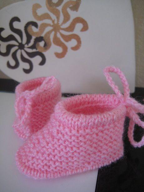Jolis chaussons pour les bébés prémas