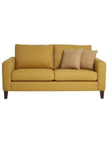 Sable & Briar Bond 2.5-Seater Sofa, Mustard product photo