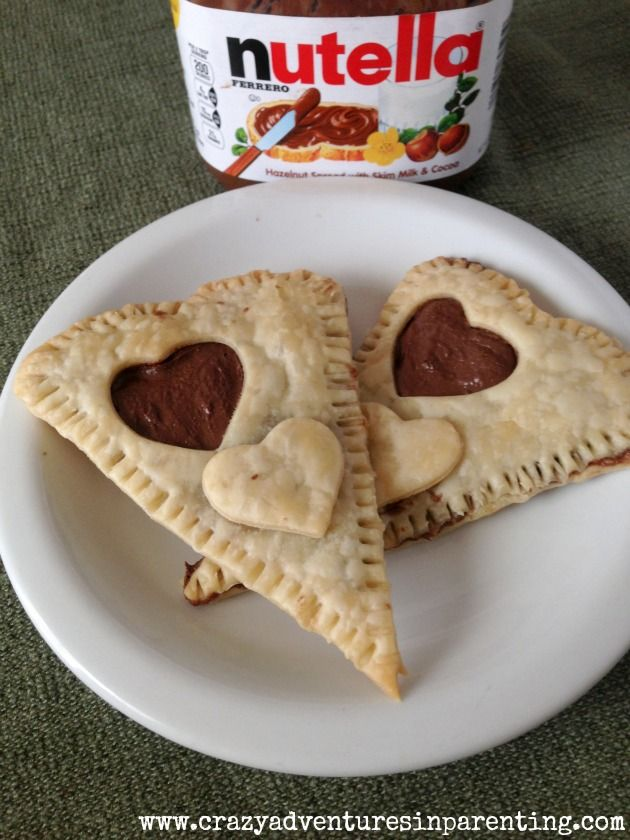 Homemade Pop Tarts {Heart-Shaped} - Crazy Adventures in Parenting