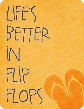 Life's better in flip flops | Films in de categorie 'explore, dream, discover'