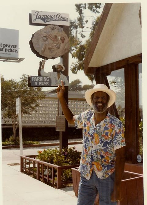 """Wally Amos, an Air Force veteran who worked as a talent agent with the William Morris Agency (He actually signed Simon and Garfunkel and worked with the Supremes and Marvin Gaye.), took the advice from friends and opened, """"Famous Amos Cookies"""", on March 10, 1975. It was located at Sunset Boulevard and Formosa Avenue. The business earned $300,000 that year and had $12 million in revenue by 1982 proving that chocolate chip cookies are just as American as apple pie."""