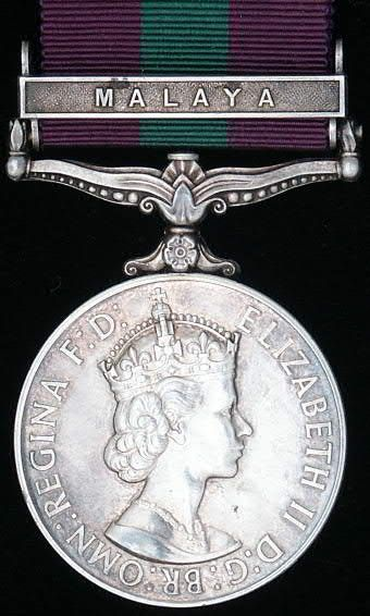 The British General Service Medal 1918 - 1962