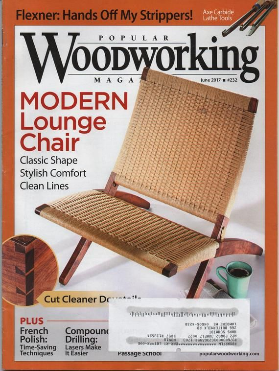 Popular Woodworking Magazine June 2017 Illustrated 64 Pages