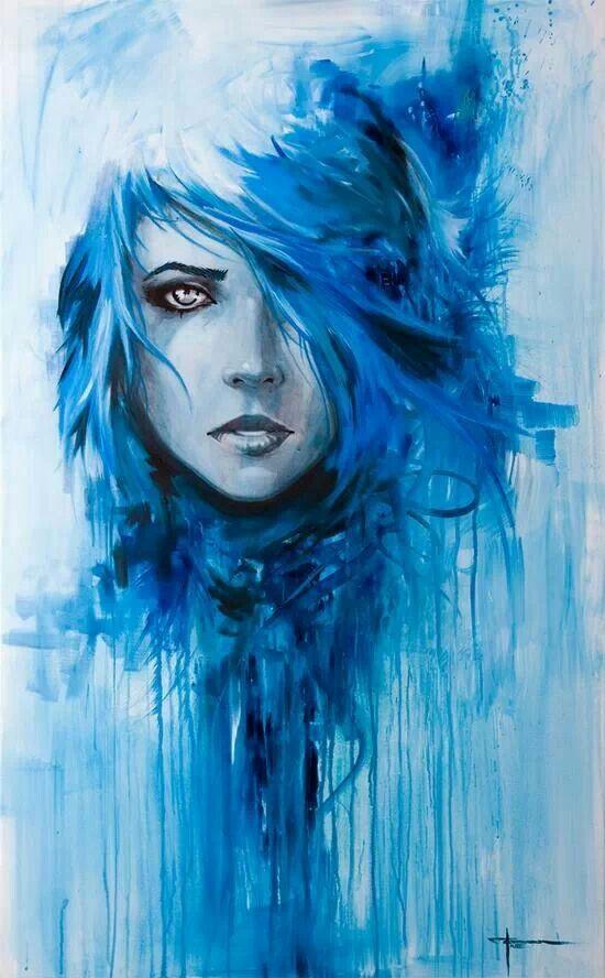 #art colour, soulful, brushwork, watercolour, colour run, haunting