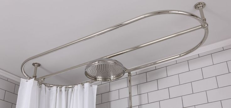 EFFUSIO SHOWERS ABOVE FREE STANDING BATHS  Combine your free standing bath with a functional overhead shower