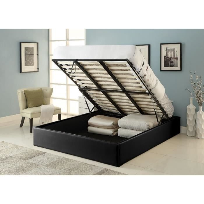 les 25 meilleures id es de la cat gorie lit 140x190 pas cher sur pinterest lit 160x200 pas. Black Bedroom Furniture Sets. Home Design Ideas