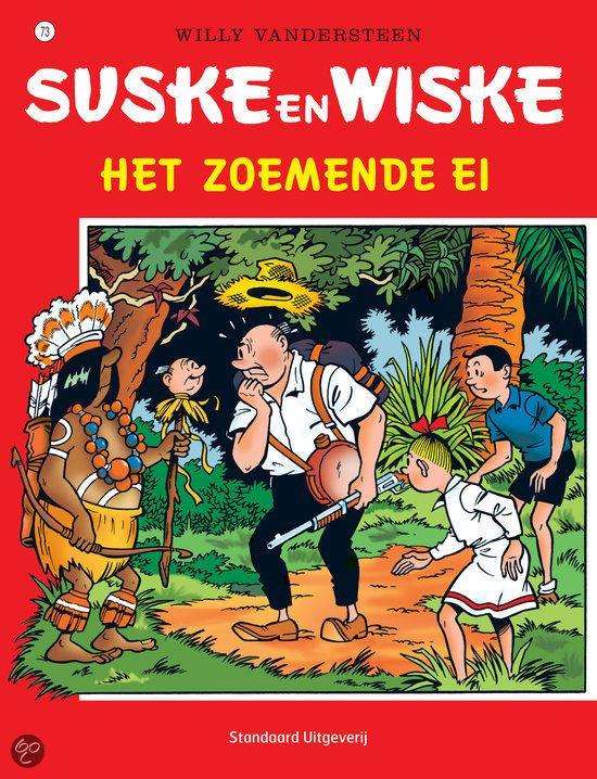 73 - Suske en Wiske - Het zoemende ei