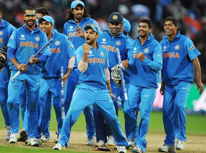Champions Trophy'13 WINNERS : Team India. Many many congratulations to all the fans & Indian Cricket Team who defeated England by 5 runs in the #CT13 final match.  #CT13 #ChampionsTrophy #Cricket #IndvsEng #Final #CTFinal