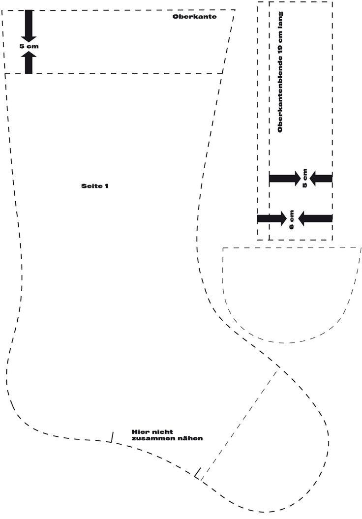 25 einzigartige nikolausstiefel ideen auf pinterest nikolausstiefel n hen diy. Black Bedroom Furniture Sets. Home Design Ideas