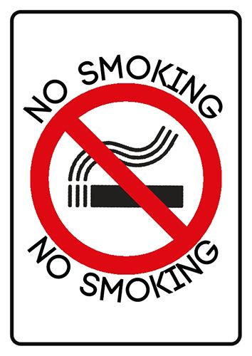 If you want to breathe clean air? Then this is poster for you - No Smoking sign template on http://www.ronyasoft.com/products/poster-forge/templates/prohibition-signs/no-smoking-sign-template/