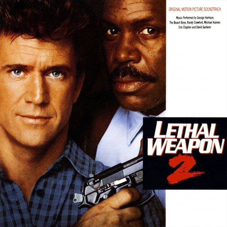 """Lethal Weapon 2"" movie soundtrack, 1989."