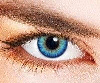 natural looking non prescription blue colored contacts for brown eyes - Google Search
