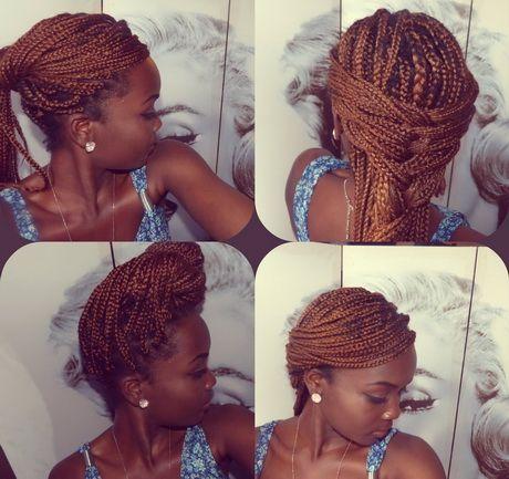 Penteados com tranças africanas