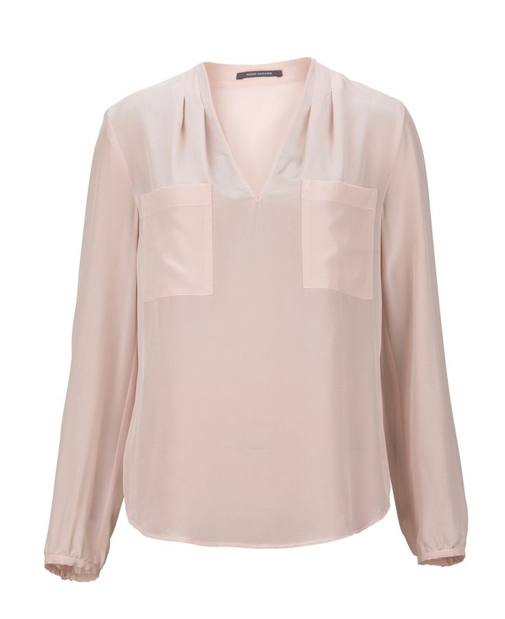 Elegant #ReneLezard blouse as a must have for your daily business outifts. #DesignerOutletParndorf