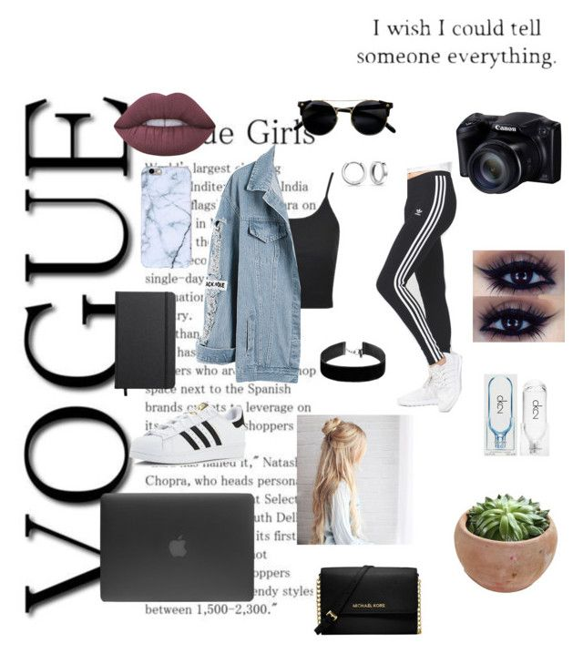 """""""Sry #24"""" by mermerjulia on Polyvore featuring adidas, Bling Jewelry, Topshop, Incase, Shinola, Lime Crime, Calvin Klein, Michael Kors and women"""
