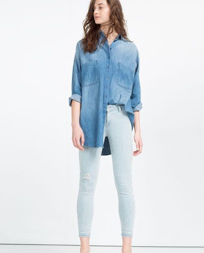 ZARA - NEW IN - MID-RISE JEANS
