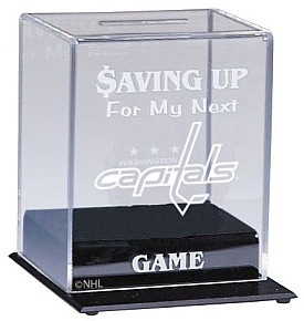 Caseworks Washington Capitals Collectible Team Bank - Shop.NHL.com