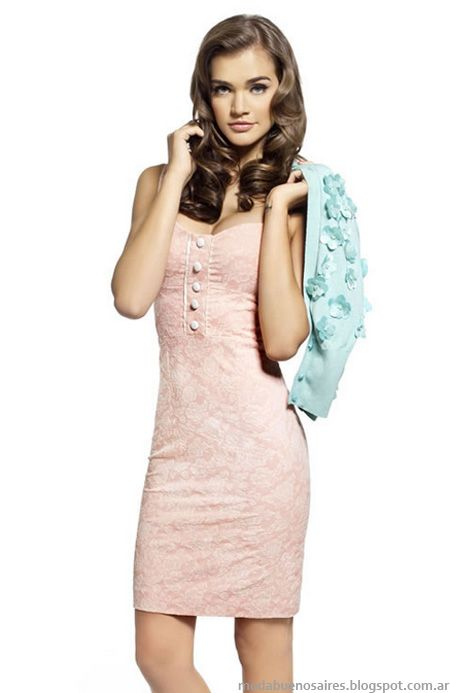 Las Oreiro 2013 vestidos primavera verano 2013 moda argentina.