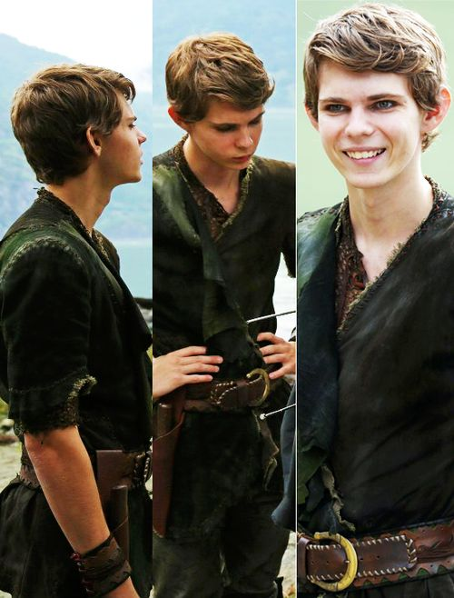 """greatest peter pan ever - except he turned out to be evil, but this actor was born for this role, too bad they killed him off....but it is a fairy tale world...NEVER SAY NEVER, especially when PETER PAN is involved ...NEVERLAND?!!! He'll be back this March 2016 along with everyone else whose ever """"passed"""" thru Storybrooke!!!! (It's mid-Jan 2016)"""