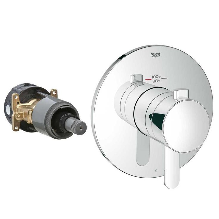 Website Picture Gallery Grohe Europlus New Grohflex Cosmopolitan Thermostatic Kit