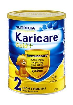 Gold 2 + Infant Formula http://www.shopnewzealand.co.nz/en/c/Karicare