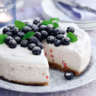 Summer Berry Cheesecake: Recipes